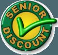 Senior discount stamp pic