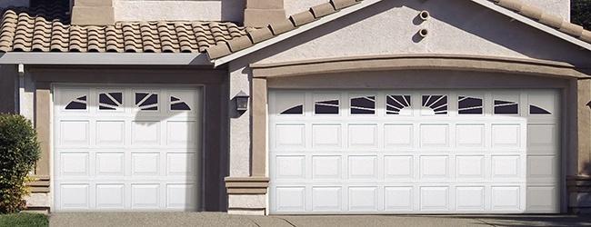 Vinyl Handyman Garage Doors