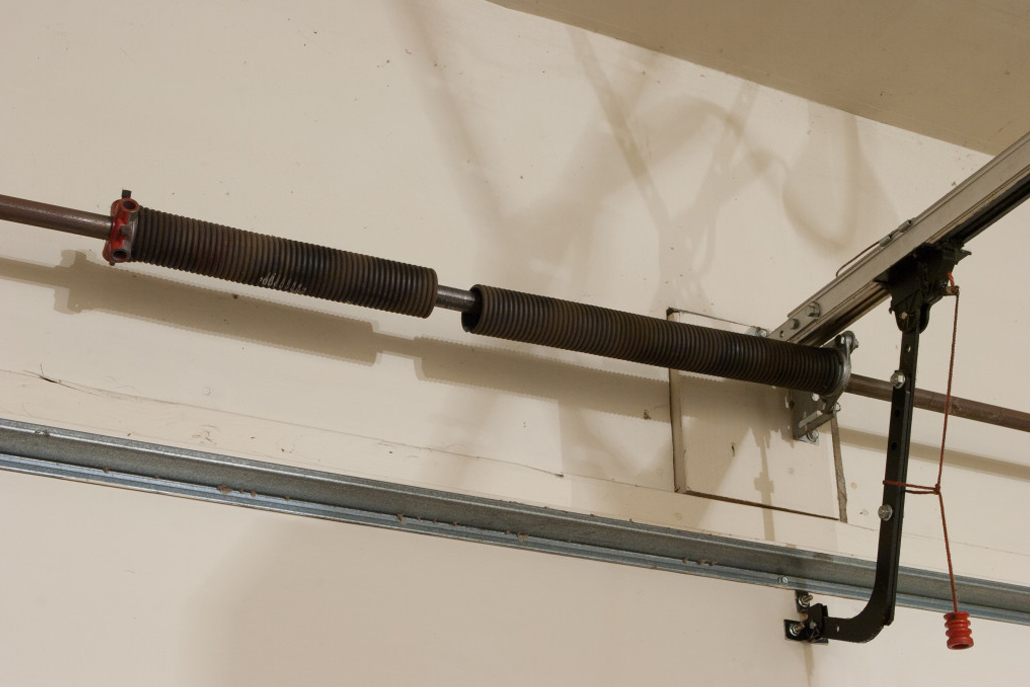 Garage Door Torsion Spring Build and Repair